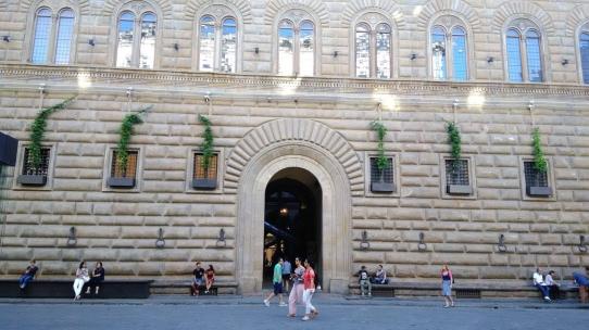 Palazzo strozzi facciata